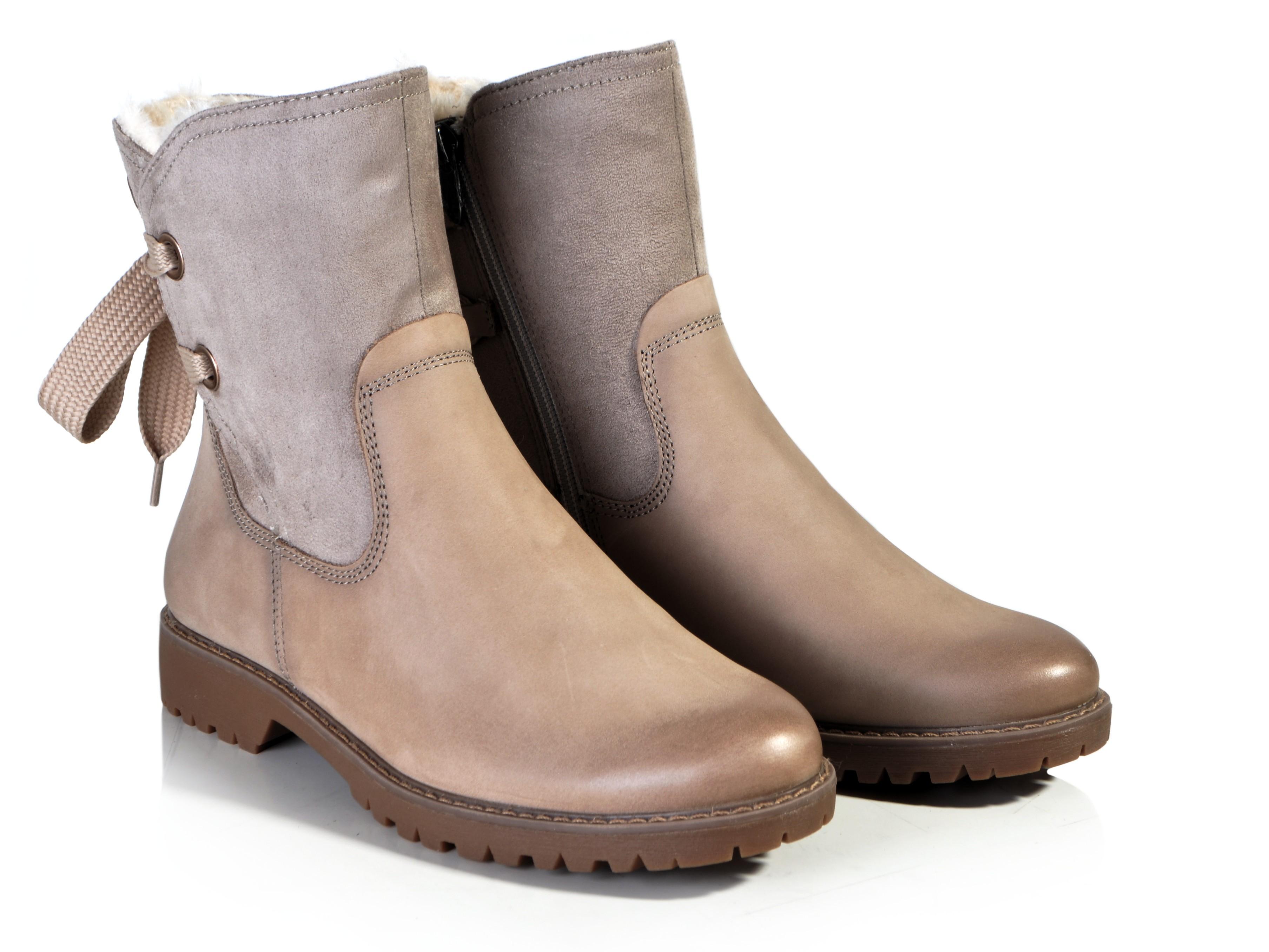 ba347334abc52 Tamaris 1-26445-21 béžová. Kód produktu: 1341233. Výrobce: Tamaris. Dámská  kotníková obuv…