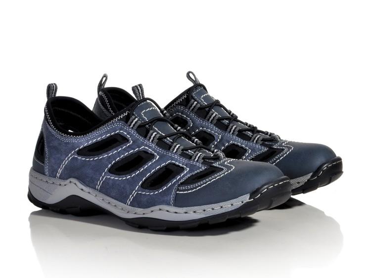 sneakers for cheap super cute outlet boutique Rieker 08065-26 modrá